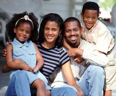 black nuclear family